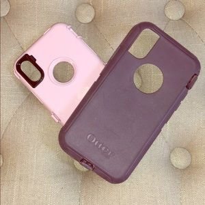 iPhone X Otter Box phone case 📞